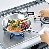 豚の野菜のハーブ焼き(200℃)